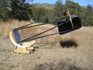 how to make a large dobsonian telescope