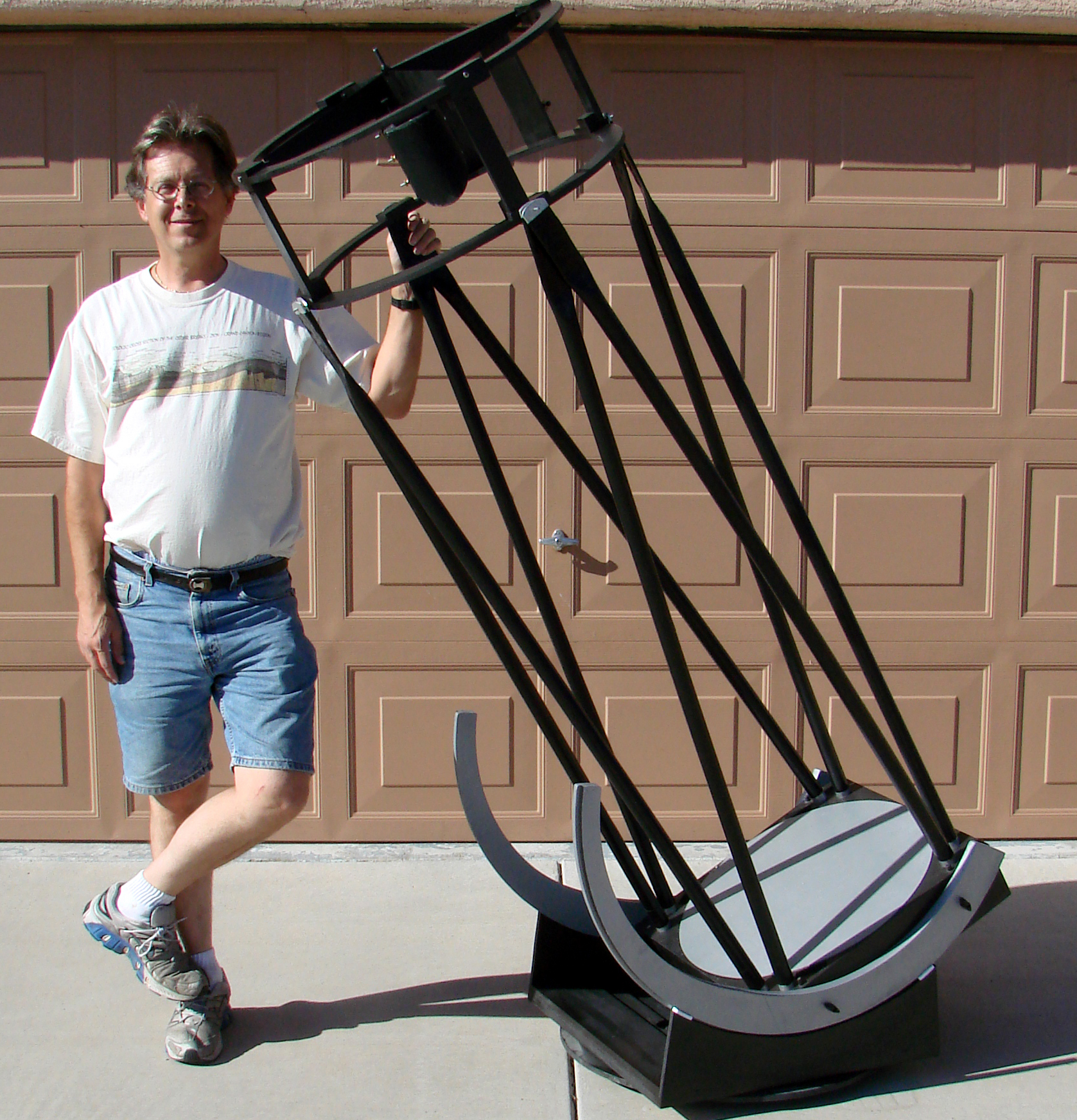 A Homemade 20 Inch Dob Lightweight Telescope Ds 5