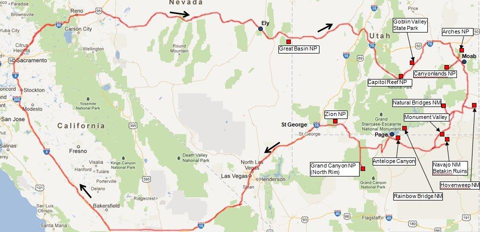 Page95  Trip To Nevada Utah And Arizona