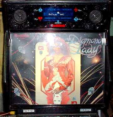 1988 gottlieb diamond lady rh user xmission com Gottlieb Pinball Machine Parts Gottlieb Pinball Machine Parts
