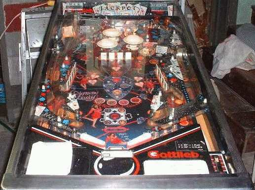 1988 gottlieb diamond lady rh user xmission com Gottlieb Pinball Logo D Gottlieb Pinball Machines