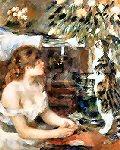Renoir - Girl with Cat