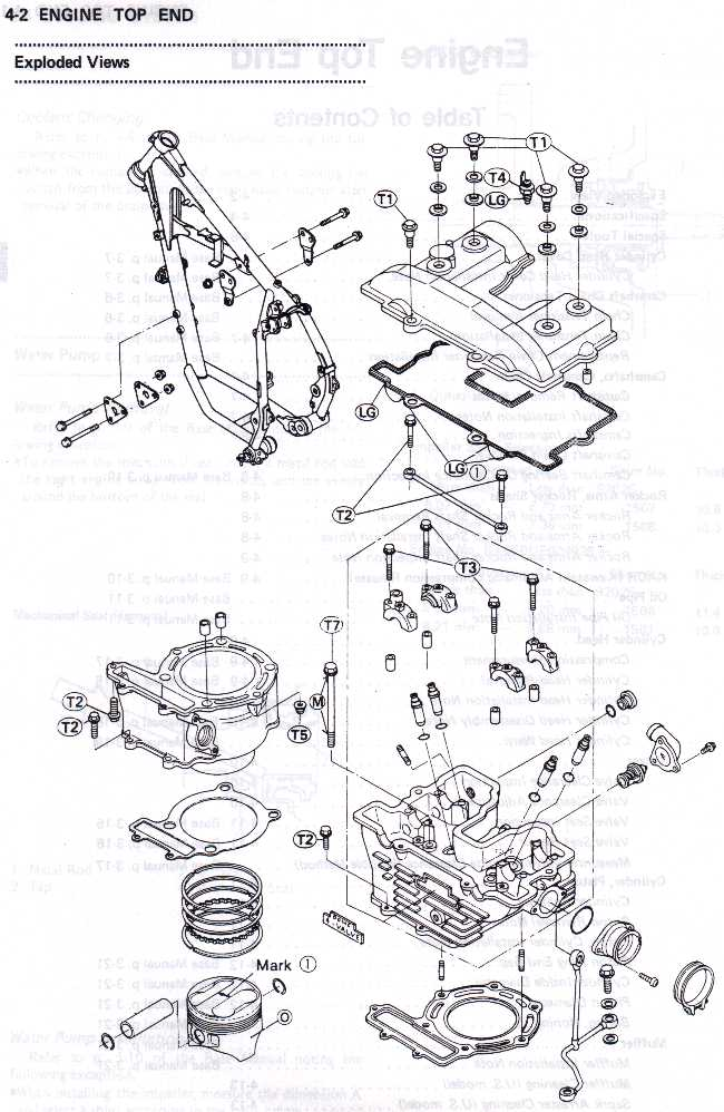 Top End Exploded Diagram Of Engine
