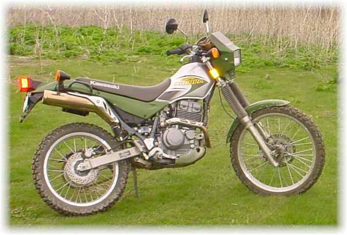 2002 Kawasaki KL 250 Super Sherpa