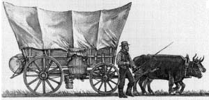 pioneer covered wagon