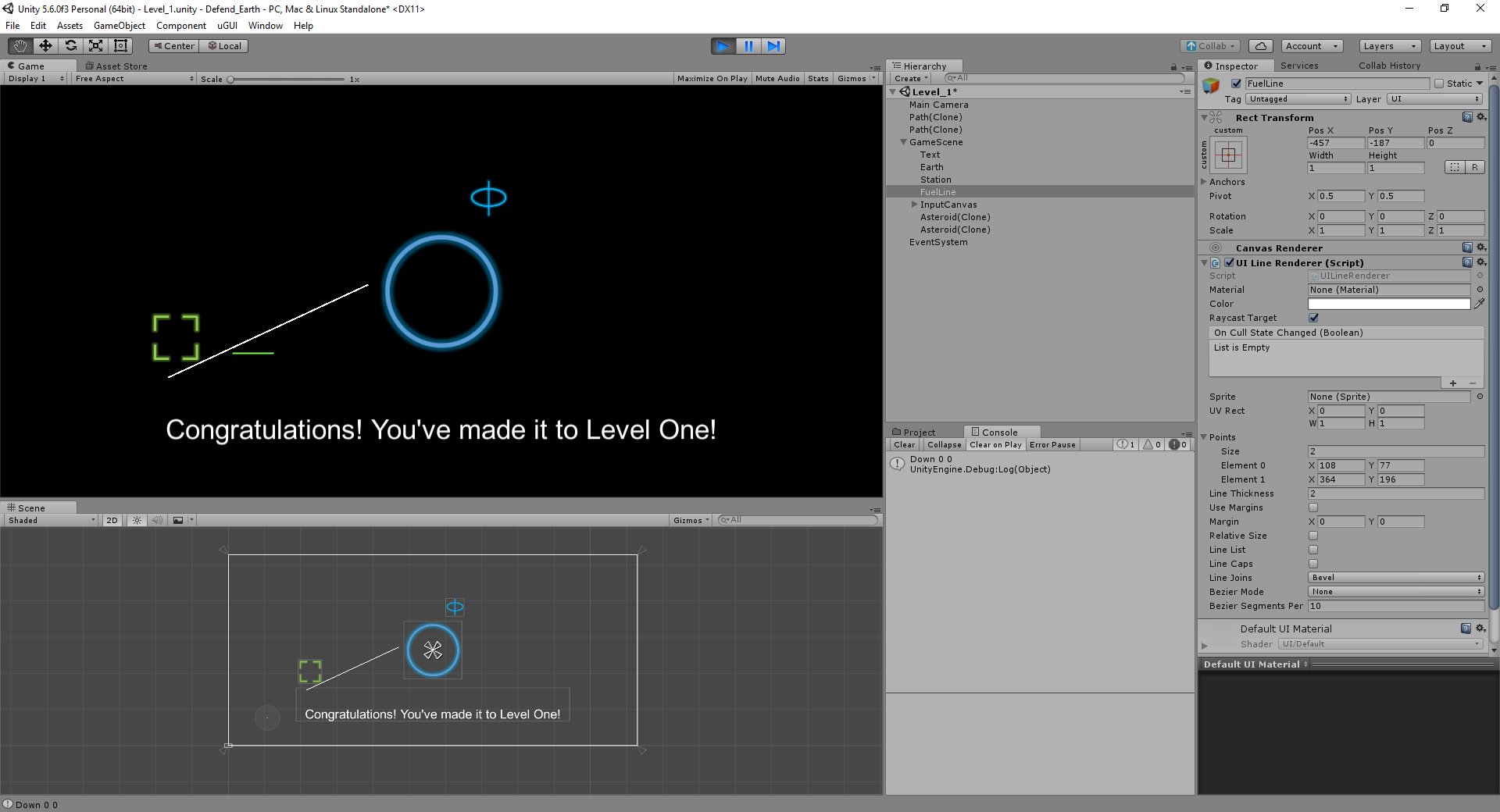 UI LineRenderer drawing line not at mouse position - Unity Forum