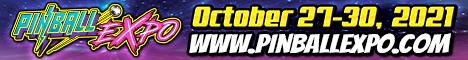 Pinball Expo 2021--Oct. 27-30, 2021