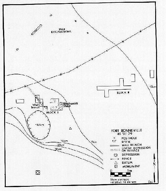 Archaeological Investigations At Fort Bonneville