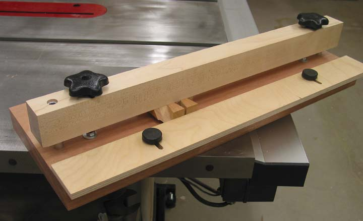 Dovetail Paring Jig - Woodworking Tools - Jim Yehle