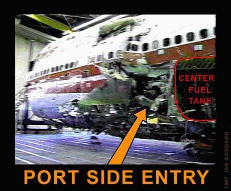 Image result for twa800 missile damage