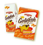 Goldfish Crackers will dumb you down!