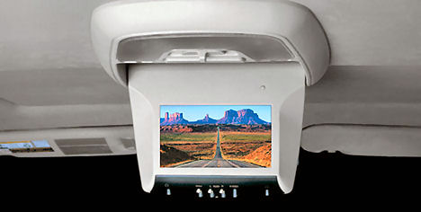 Rear Seat DVD players