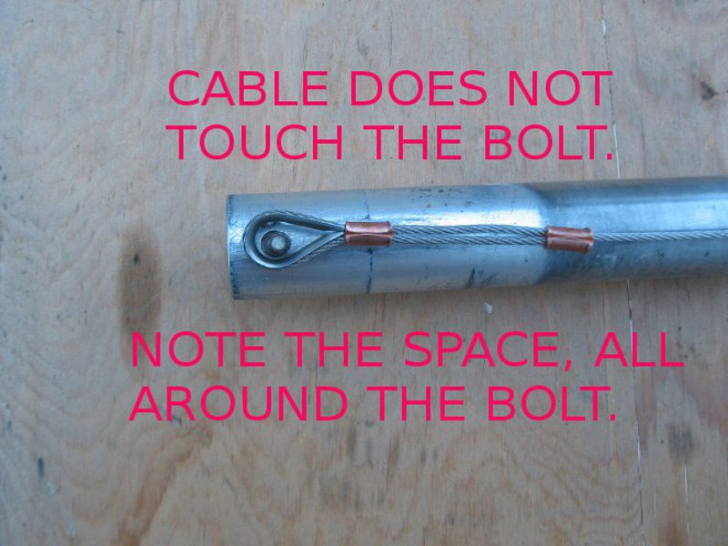 Base Tube Safety Cable