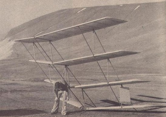 Larry Hall's Quadraplane, an improved version of Matthew Seller's Quadraplane from Early-On in the 20th Century