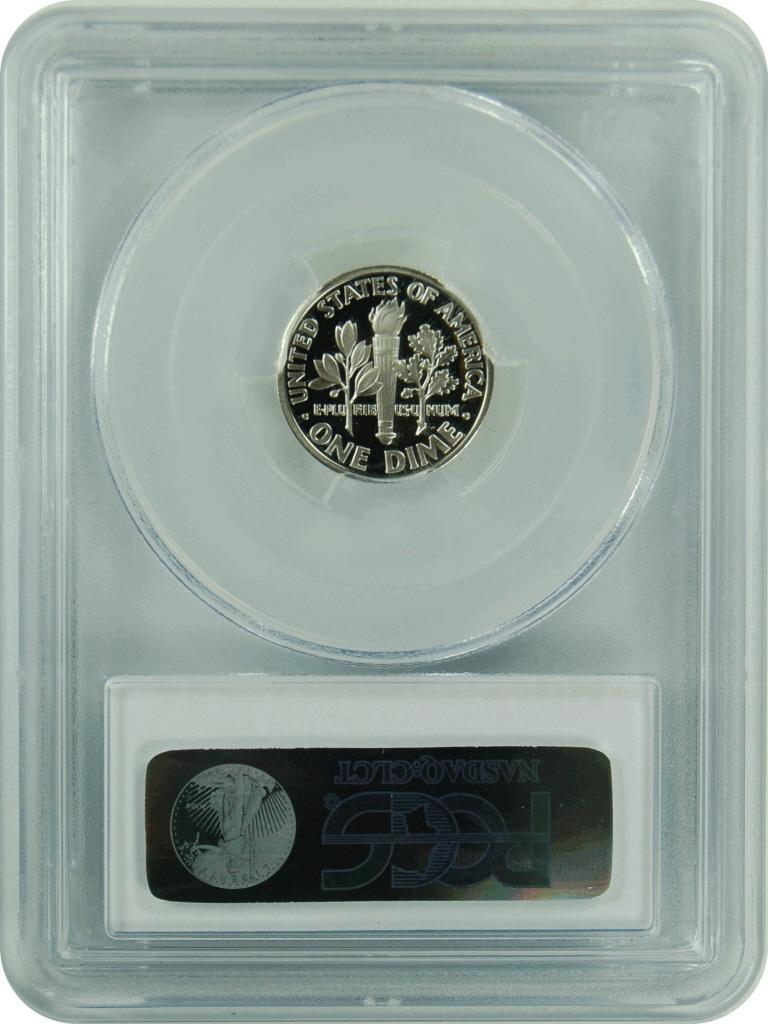1993-S PCGS PR70DCAM Silver Dime New PCGS Label