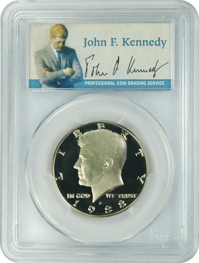 1998-S PCGS PR70DCAM Kennedy Half Dollar Presidential Dollar